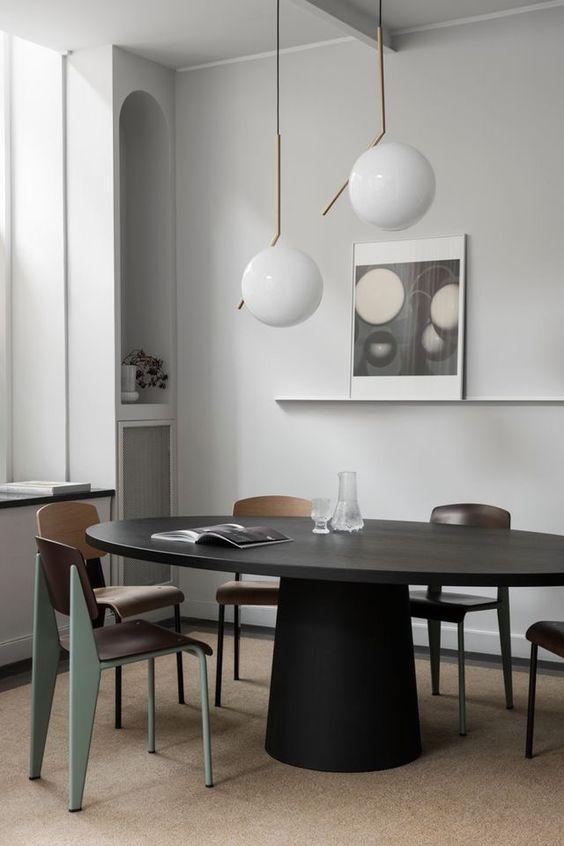 Lampade a Sospensione per il Tavolo da Pranzo