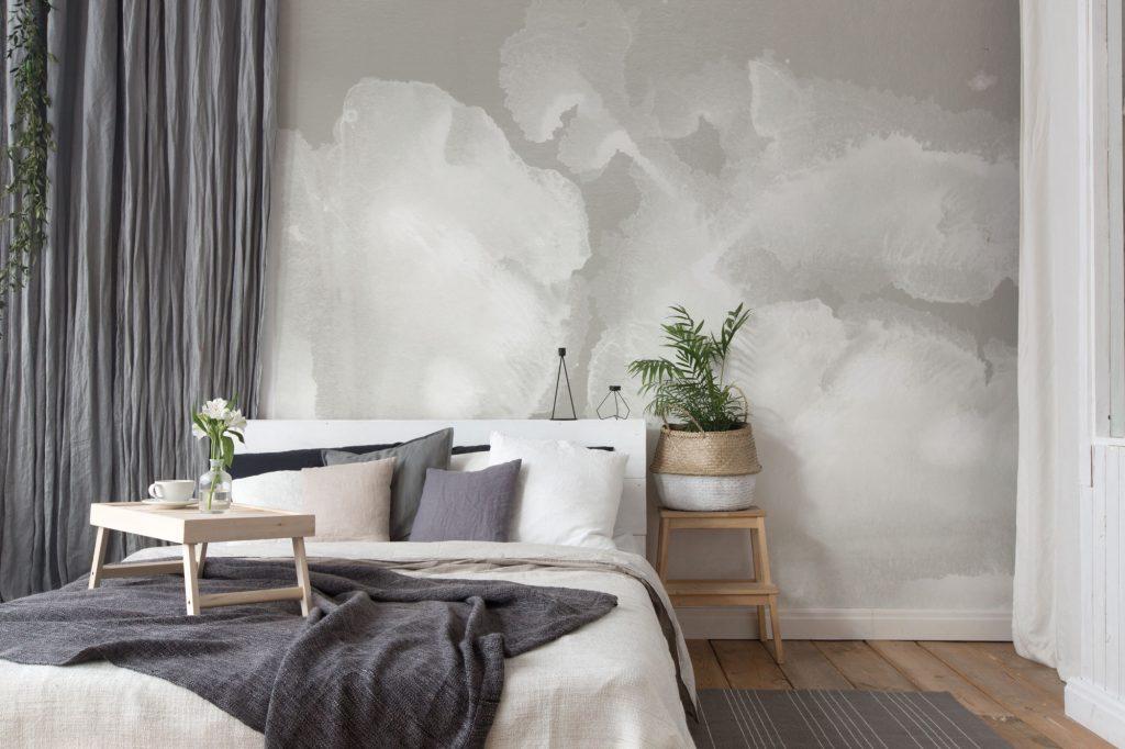 Come arredare una camera da letto moderna con carta da parati