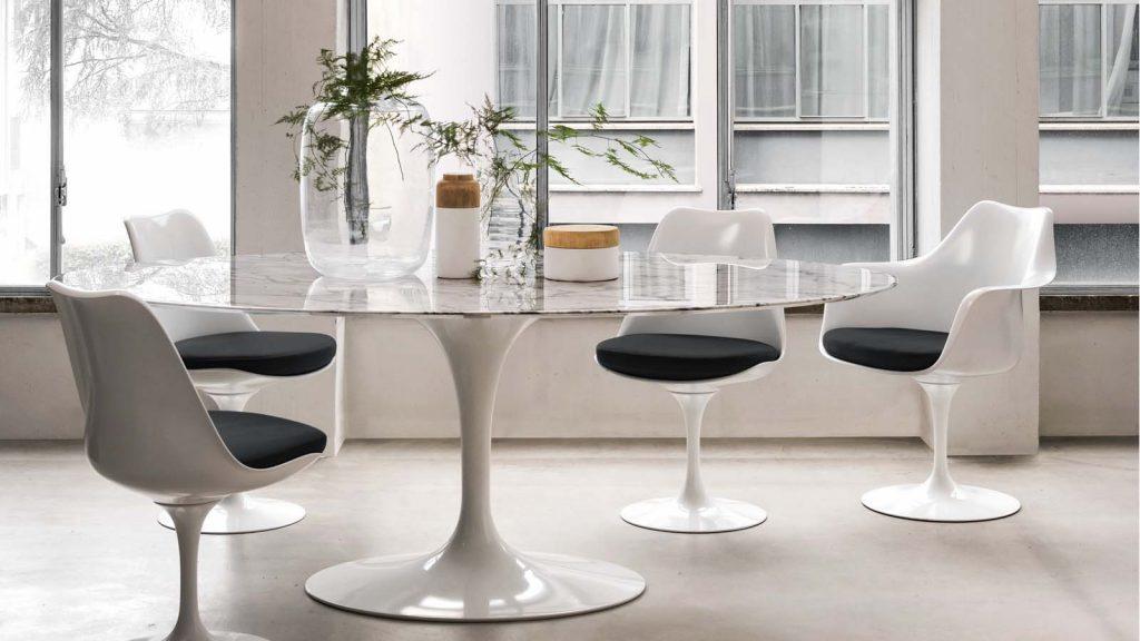 Tavolo di design bianco