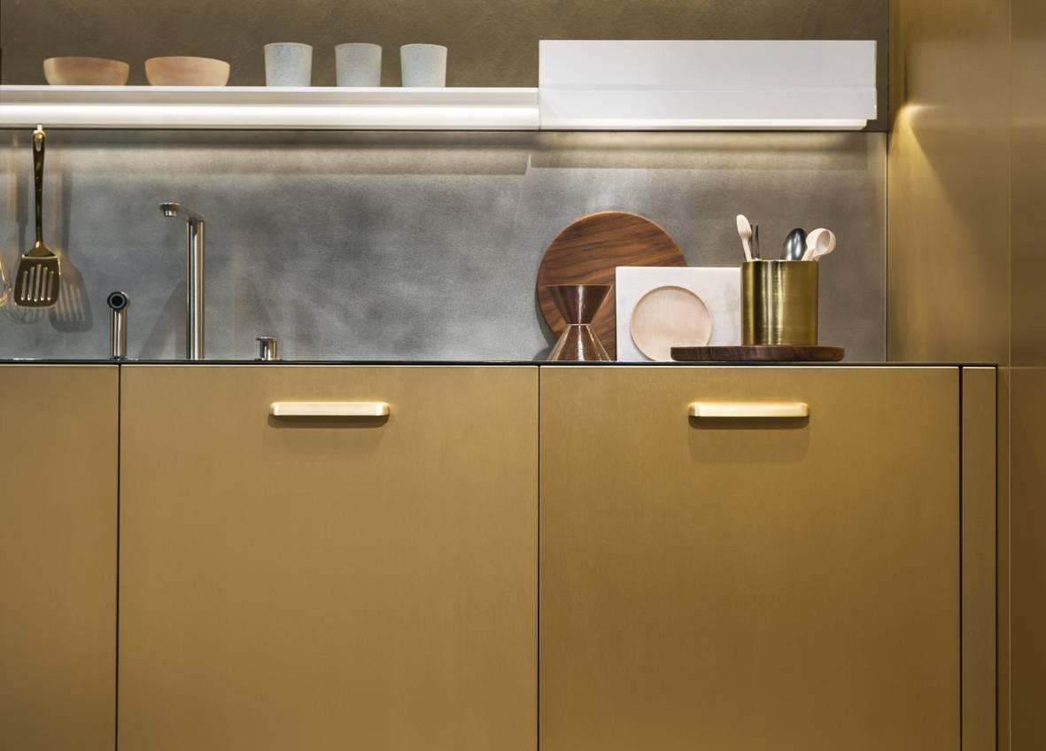 Cucina in Metallo Arredamento luxury