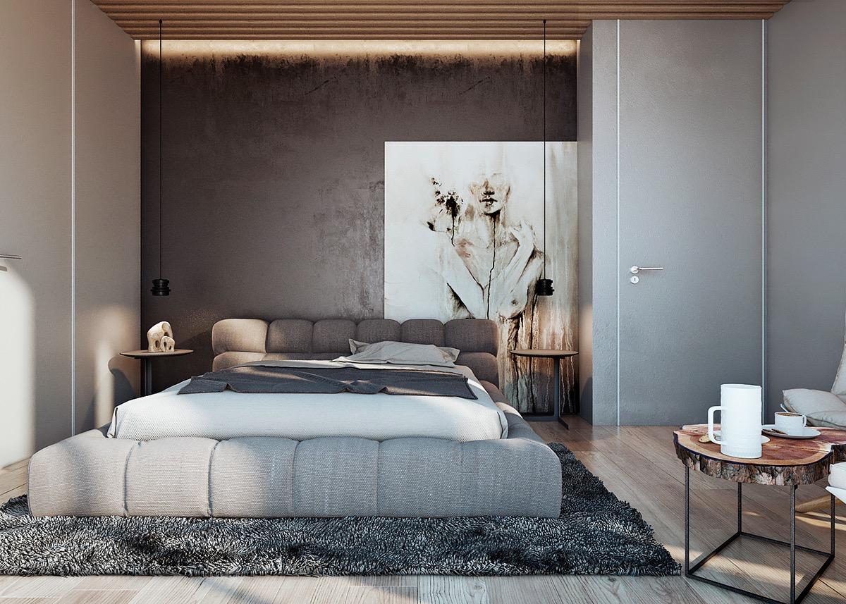 Dipingere camera da letto: 5 coppie di colori che funzionano sempre