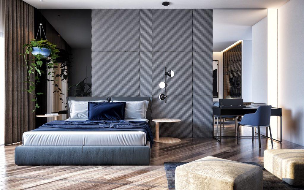 Come Abbinare i Colori grigi in camera da letto