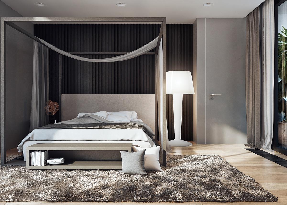 Camera Da Letto Bianco E Nero : La guida a come abbinare i colori in camera da letto