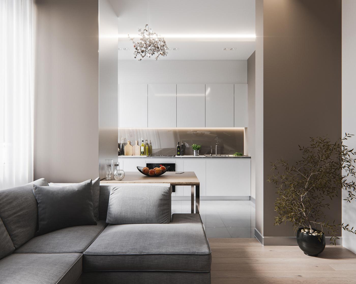 Architettura Case Moderne Idee arredare case piccole di 40 o 50 mq: progetti e idee per