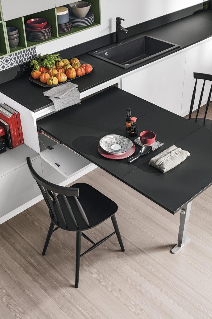 cucina piccola funzionale
