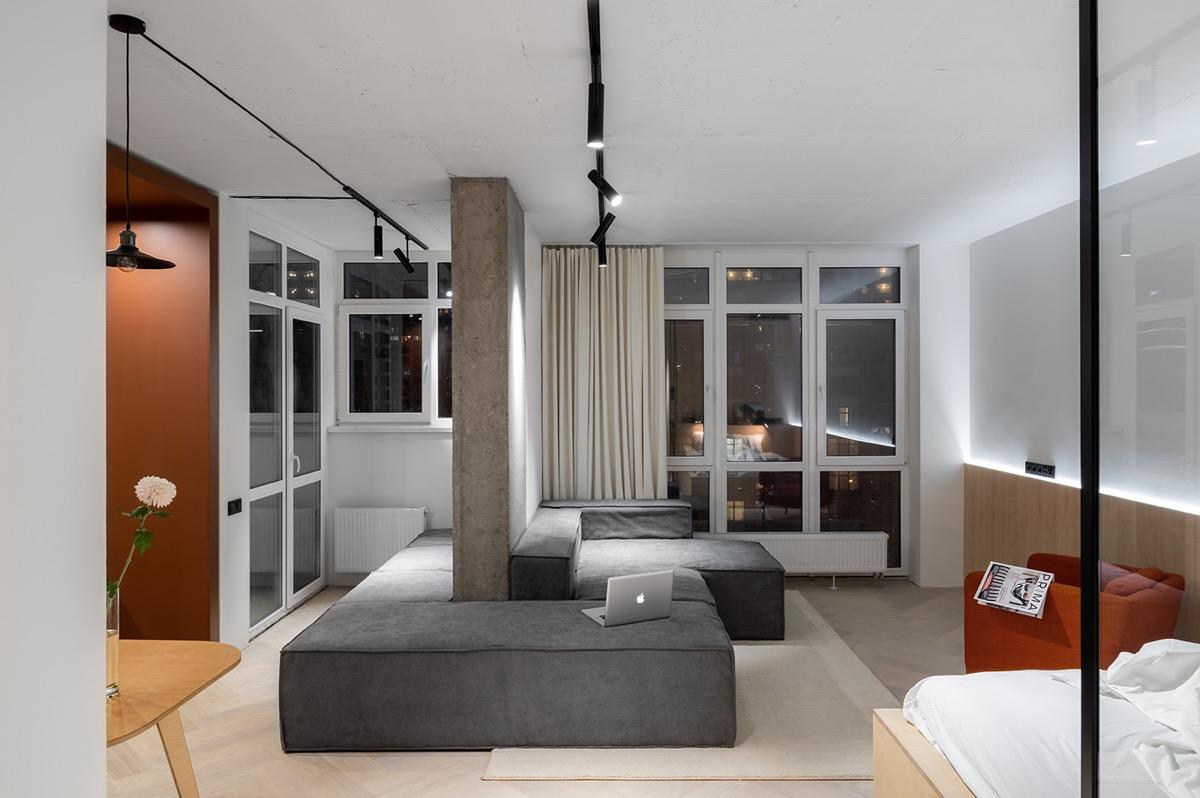 Arredare case piccole di 40 o 50 mq progetti e idee per interni originali for Arredare casa di 40 mq