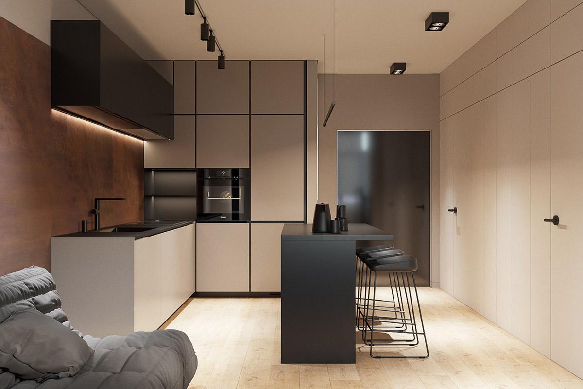 Arredare case piccole di 40 o 50 mq progetti e idee per for Idee originali per arredare appartamenti
