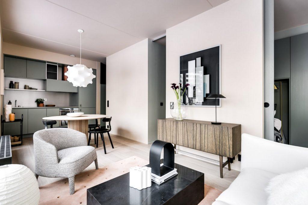 piccola casa di 40 mq arredata open space