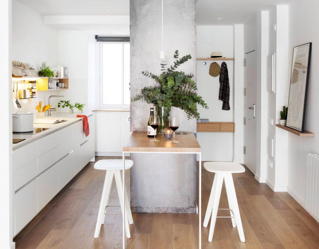 casa piccola cucina ingresso