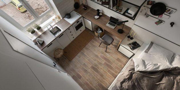Idee originali per arredare case piccole di 40 o 50 mq for Arredare piccole case
