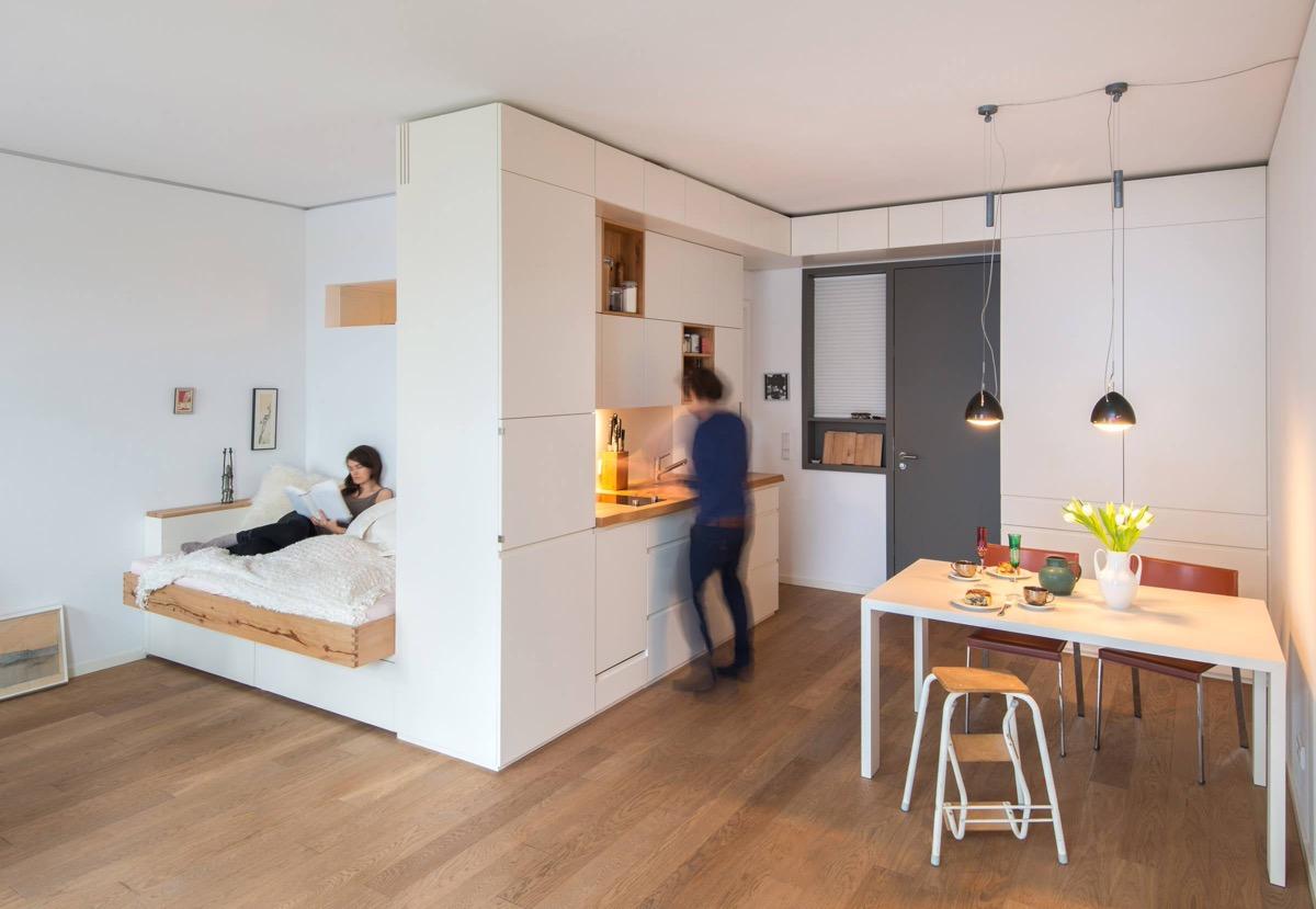 Idee Per Ristrutturare Casa Piccola.Arredare Case Piccole Di 40 O 50 Mq Progetti E Idee Per Interni