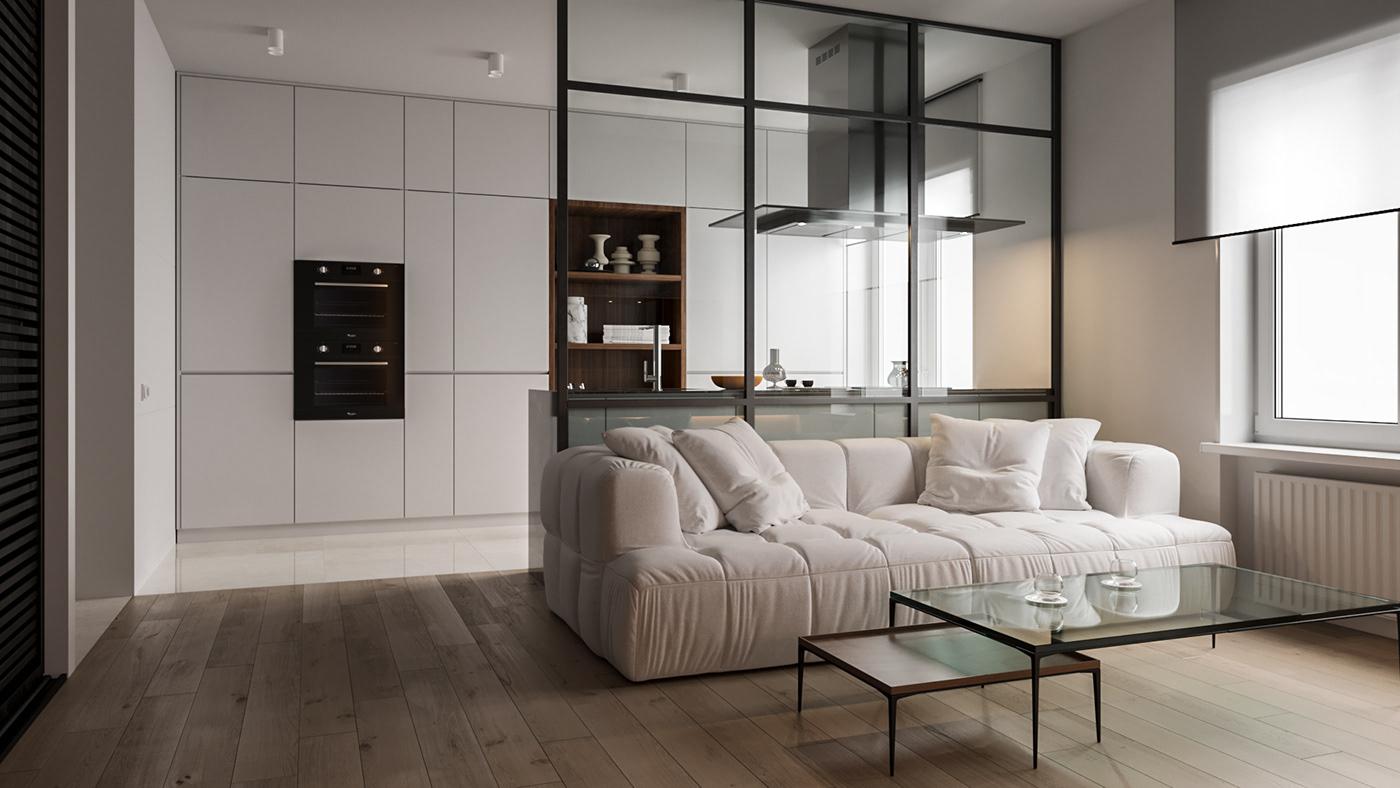 Arredo Completo Per Monolocale arredare case piccole di 40 o 50 mq: progetti e idee per