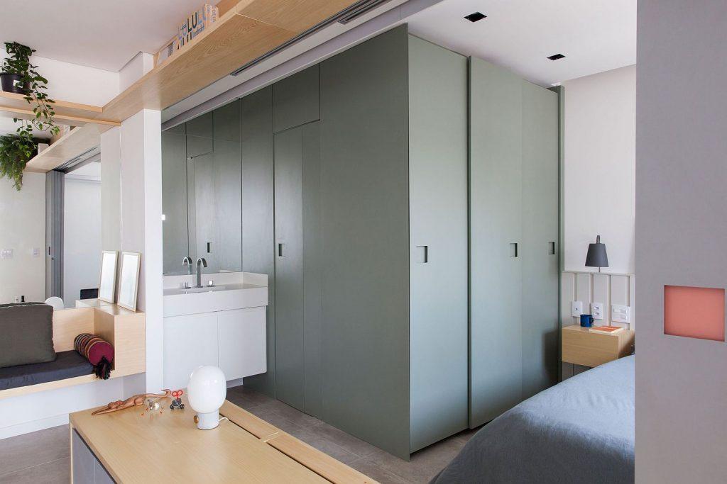 piccola camera con bagno