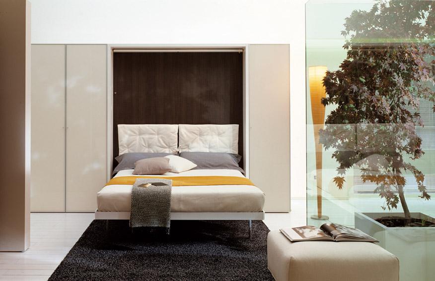 camera da letto con contenitore