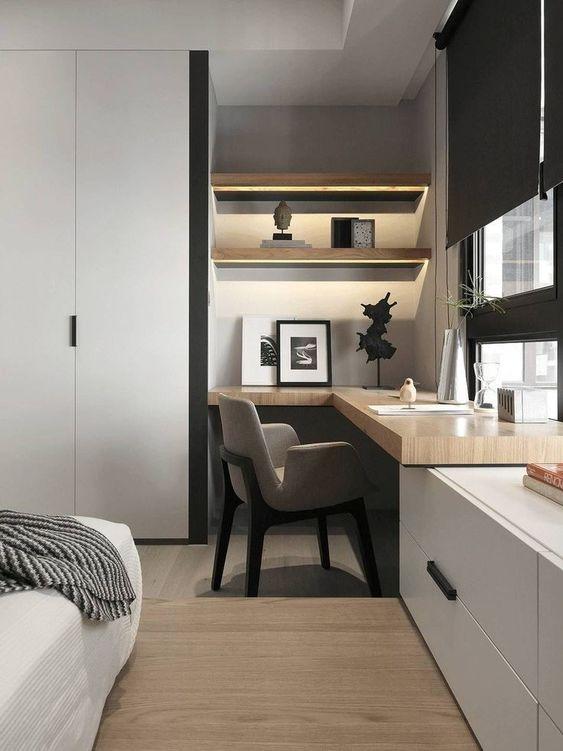 scrivania ad angolo Bed&Breakfast