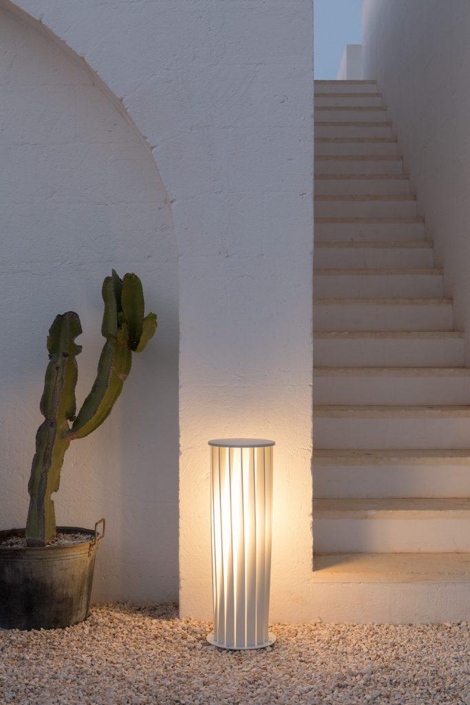 Illuminare il terrazzo