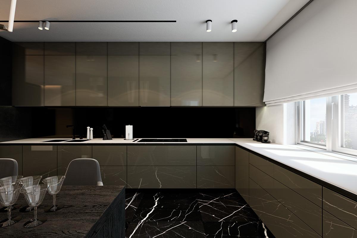 Bagno Rosa E Nero marmo e legno: la regola per abbinare pavimenti e rivestimenti