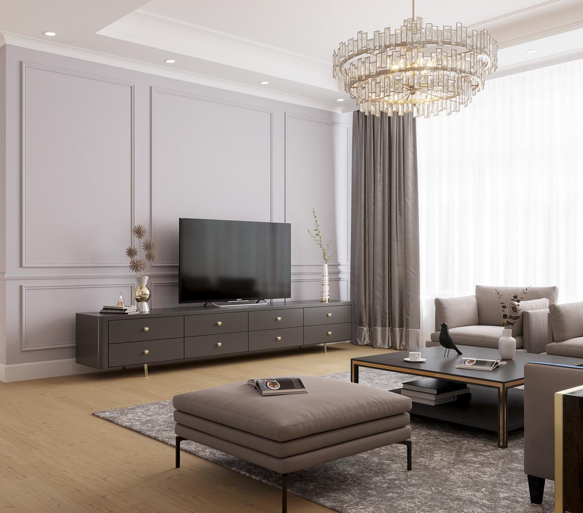 Arredamento classico contemporaneo guida allo stile pi for Arredamento moderno elegante