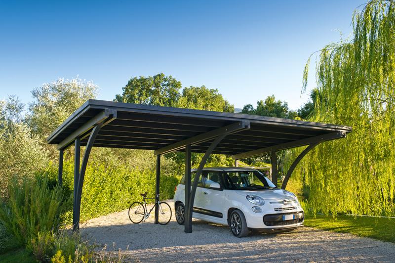 Sistemi ombreggianti esterni per auto