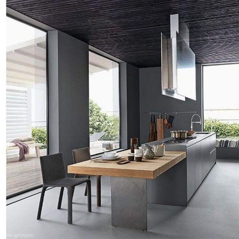 cucina grigia