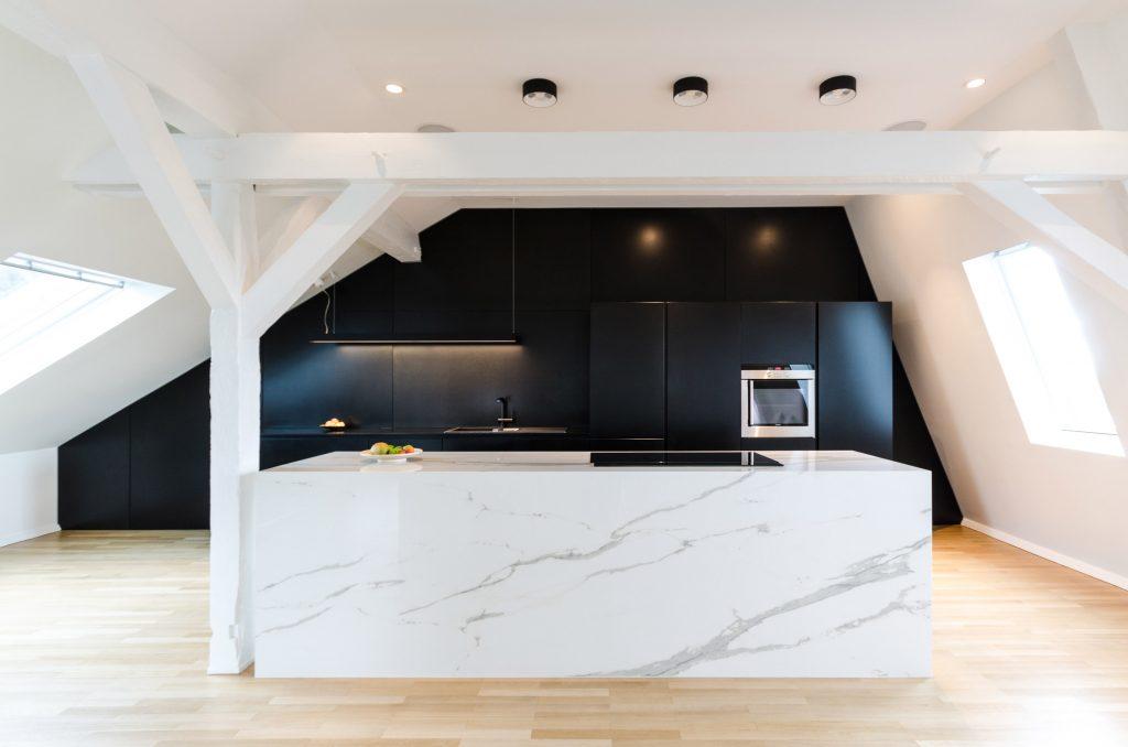 Arredare una cucina in mansarda