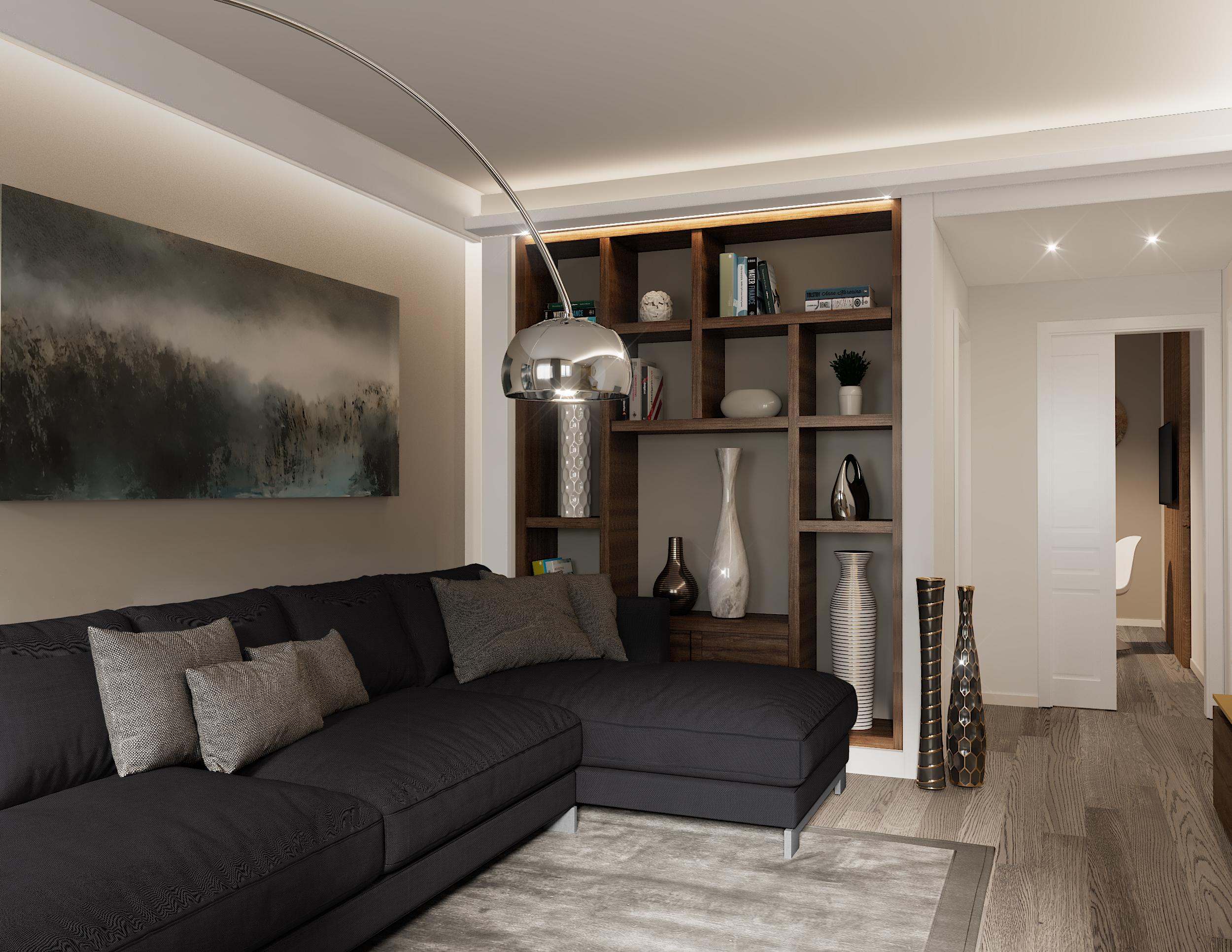 Idee Per Rifinire Casa.Pilastro A Centro Stanza Piu Di 40 Modi Per Nasconderlo Con Stile