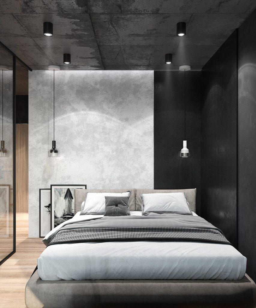 Arredare camera da letto in stile industriale