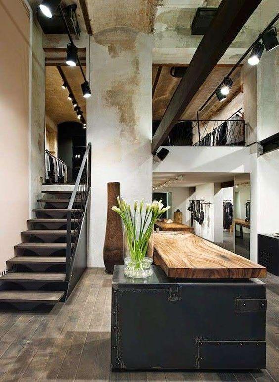 Arredare casa in stile industriale