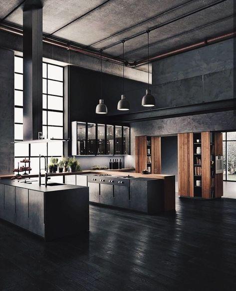 Arredare cucina in stile industriale