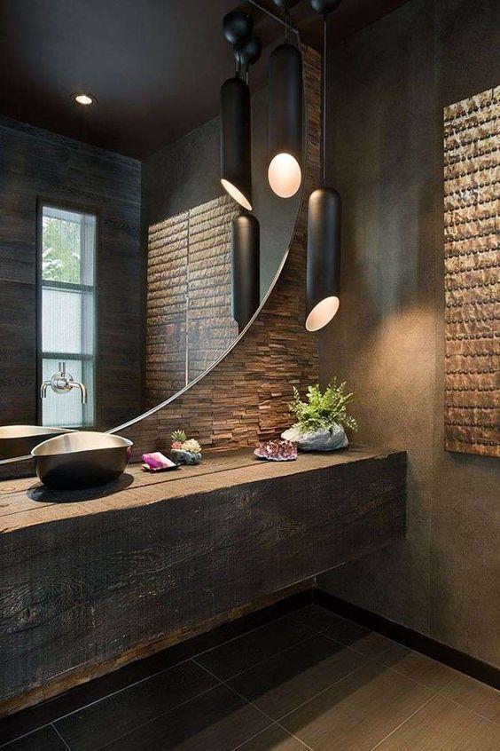 Arredare bagno in stile industriale