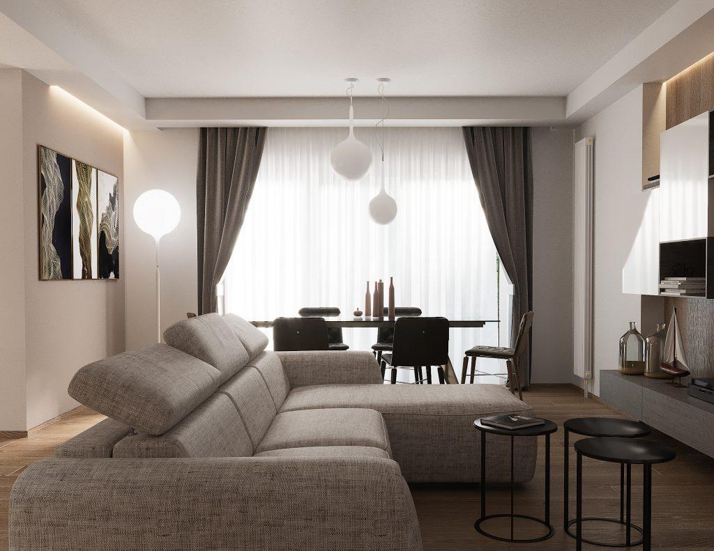 Progetto living architetto Gaia Miacola