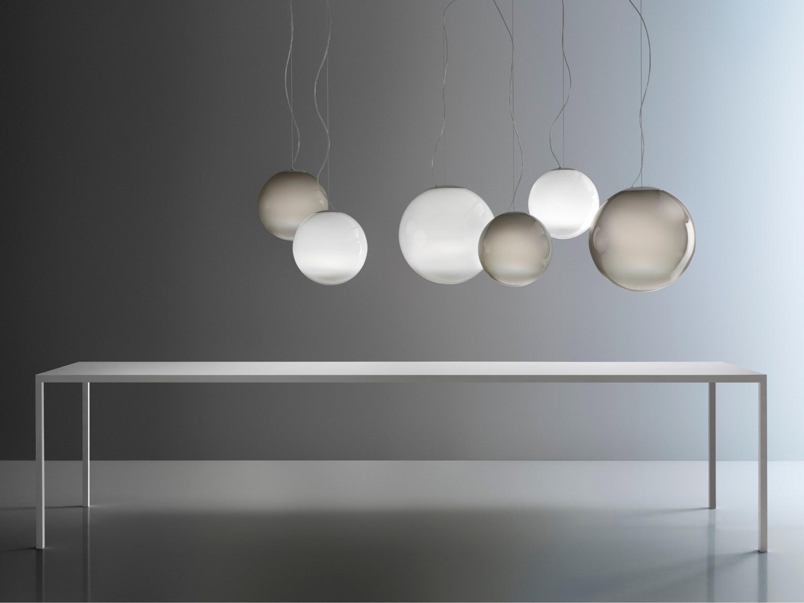 Lampadario Con Punto Luce Decentrato illuminare l'open space: idee illuminazione casa moderna