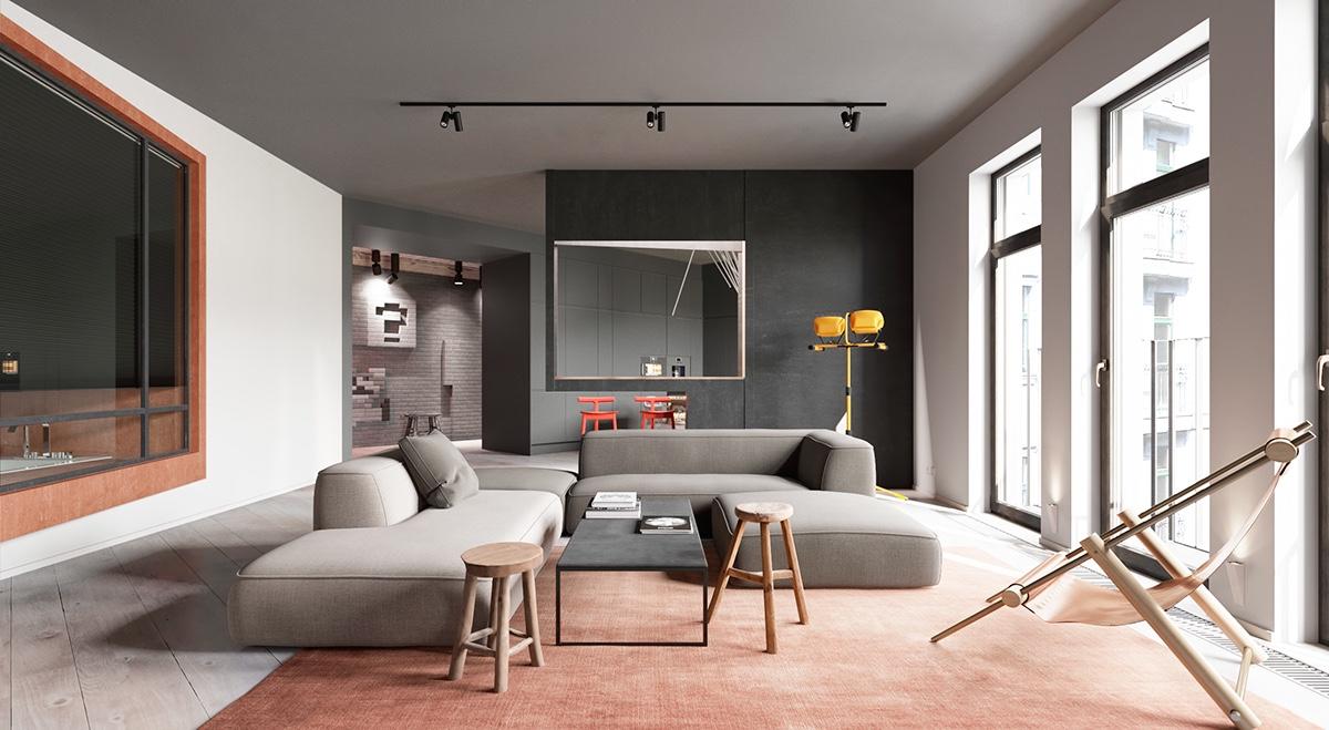 Come dipingere una stanza per farla sembrare più grande o meglio proporzionata?
