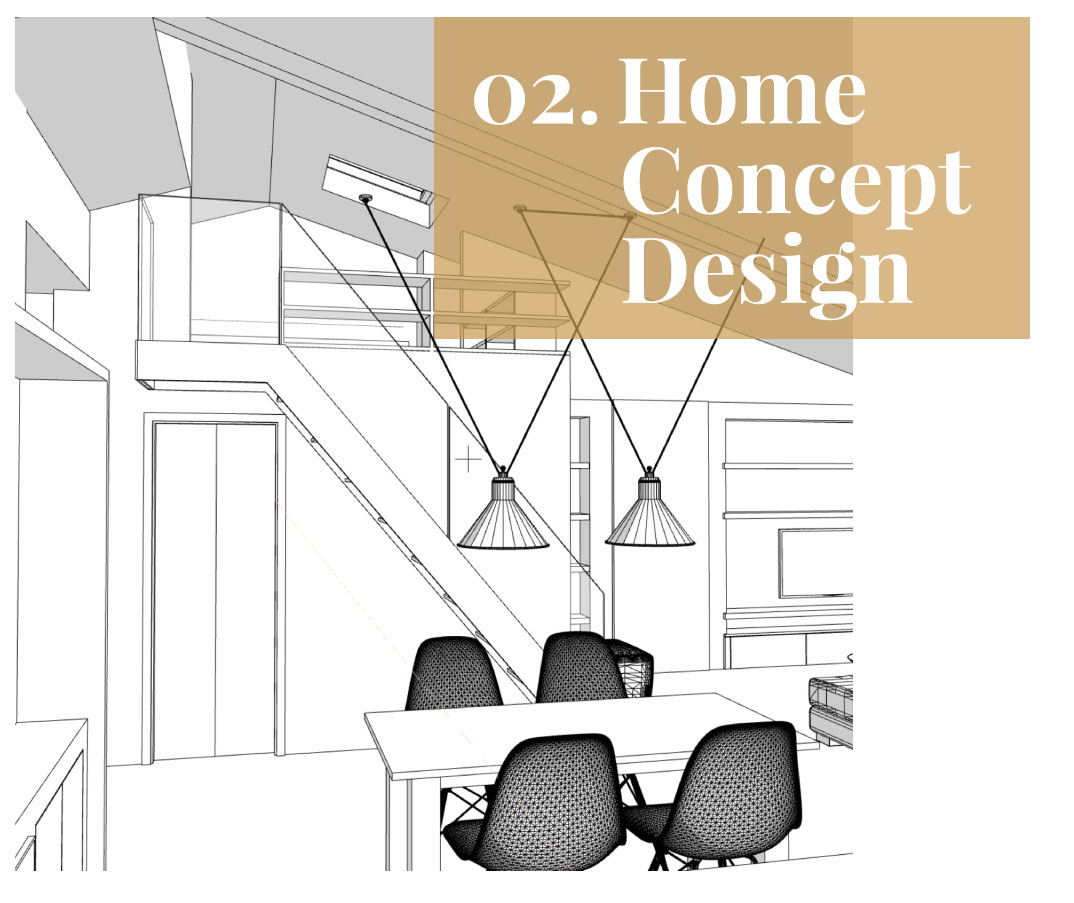 Home Concept Design servizio consulenza interior design