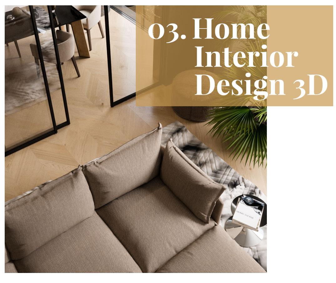 Home Interior Design 3D servizio consulenza interior design