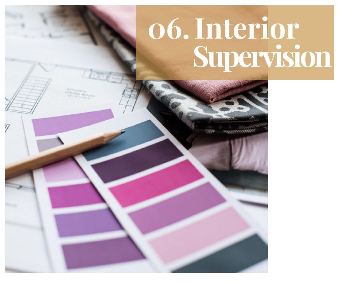 Interior Supervision servizio consulenza interior design