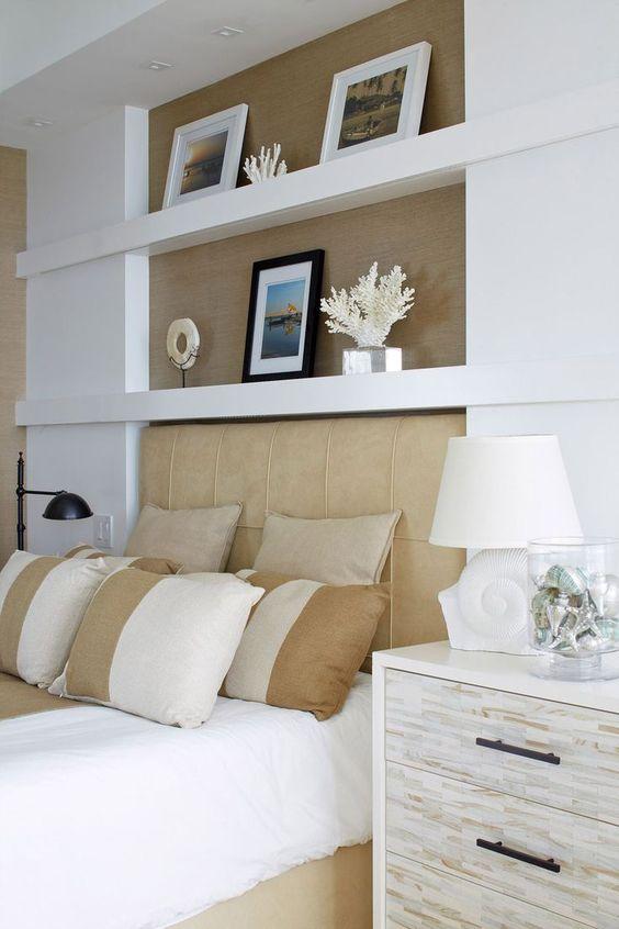 Camera da letto Arredata con il cartongesso