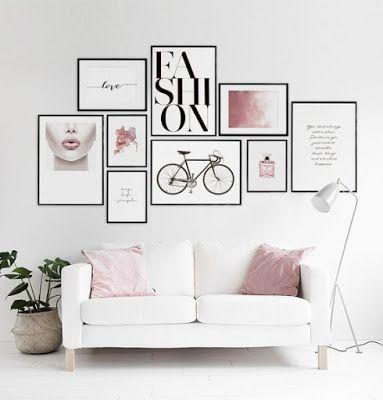 Composizione di diversi quadri