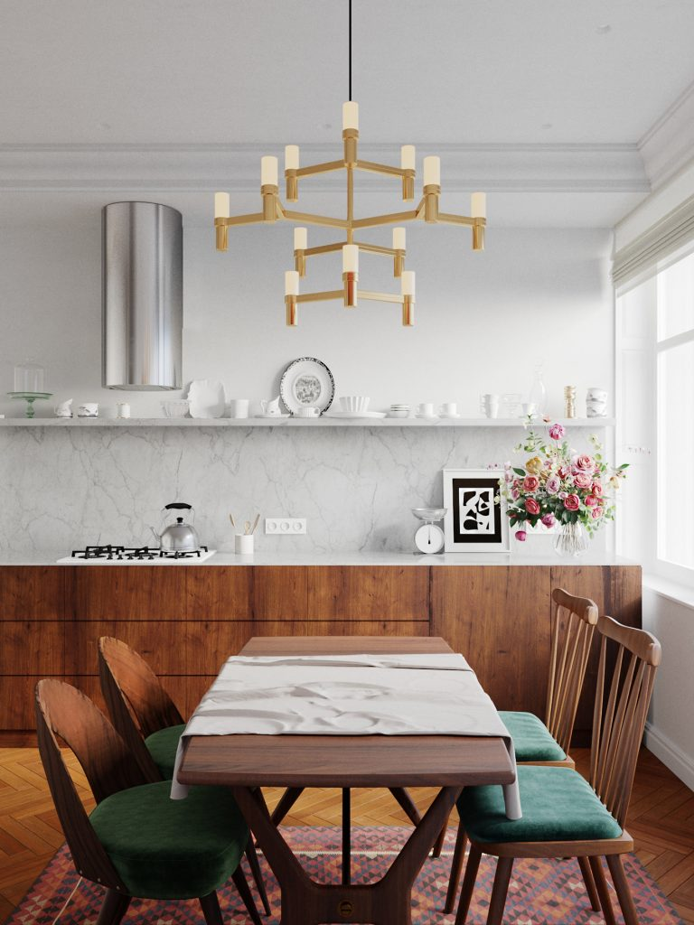 Arredare una cucina classica contemporanea