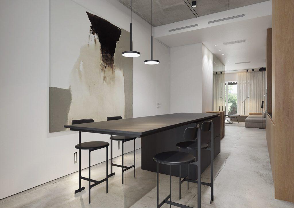 cucina classica contemporanea minimalista