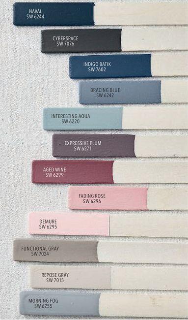 Abbinare colori delle pareti