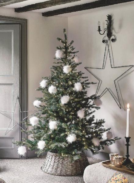 Albero Di Natale Bianco E Argento.Arredare Casa Per Il Natale Piu Di 60 Idee Moderne Di Design