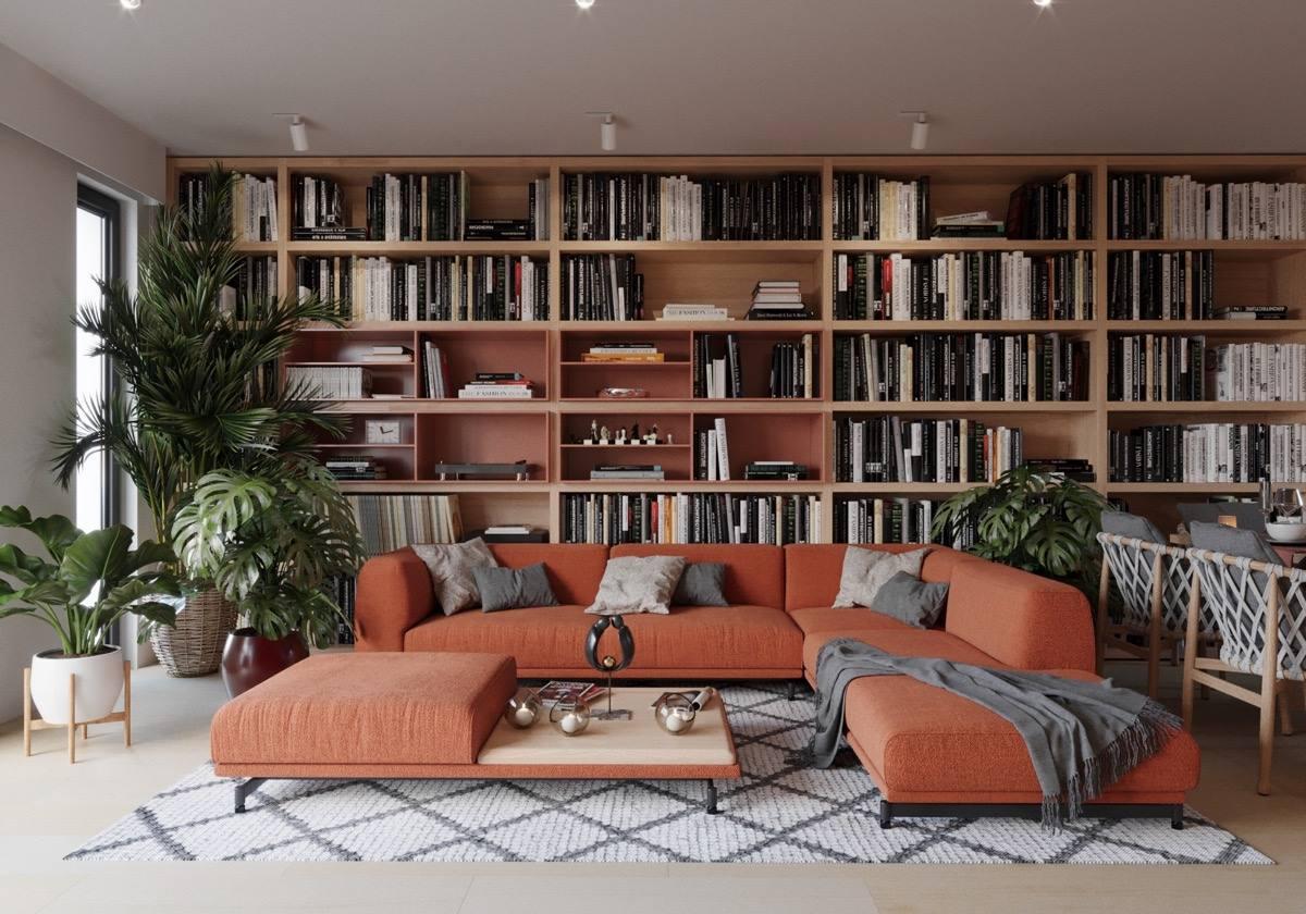 Come Allestire Una Libreria come arredare con una libreria: idee per renderla protagonista