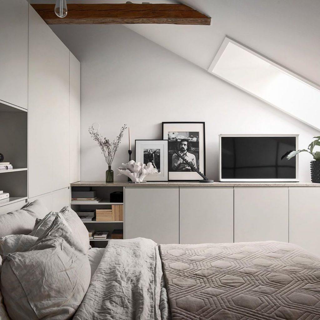 Arredare camera da letto in stile scandinavo