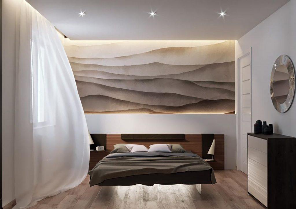 Decorare la testata del letto