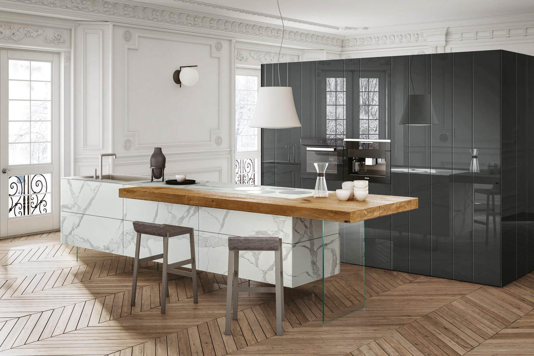 Cucine Bellissime Con Isola tendenze arredamento cucina 2020: stili e novità