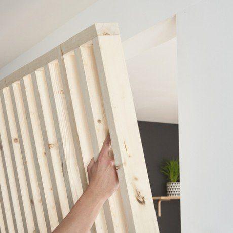 Listelli in legno con una fascia superiore e imferiore