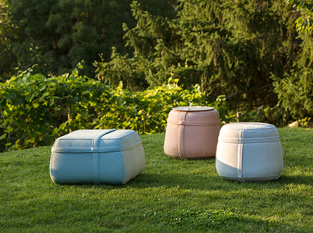 pouf arredo design giardino