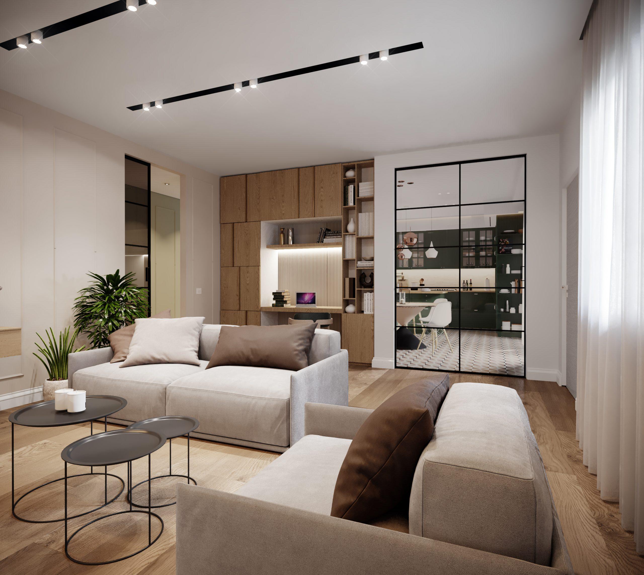 Come arredare un soggiorno rettangolare in 5 mosse