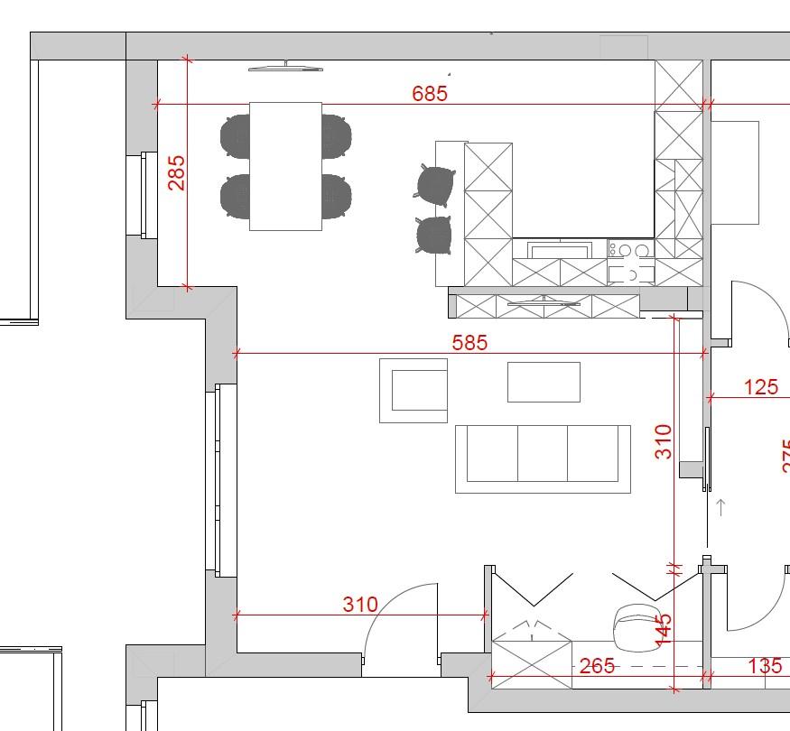 progetto soggiorno rettangolare idee disposizione arredo